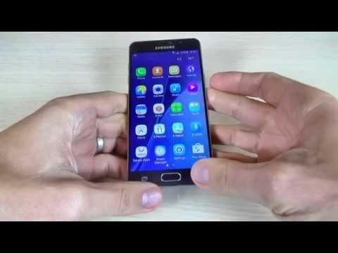 Samsung Galaxy A3, A5, A7 (2016) - How to Take Screenshot/ Print screen/ Capture