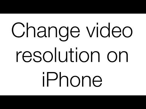 Change Camera Settings On iPhone/iPod/iPad 2016