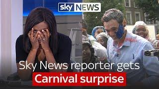 Sky News reporter
