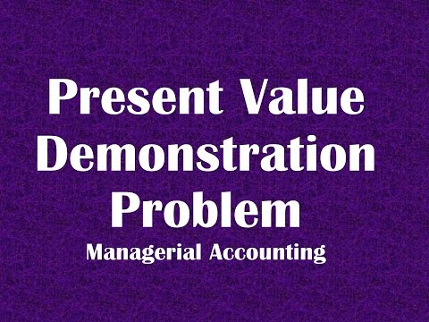 Calculating Present Value using Tables