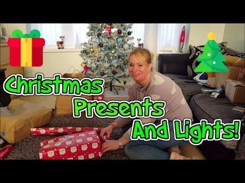 Christmas Presents & Christmas Lights!