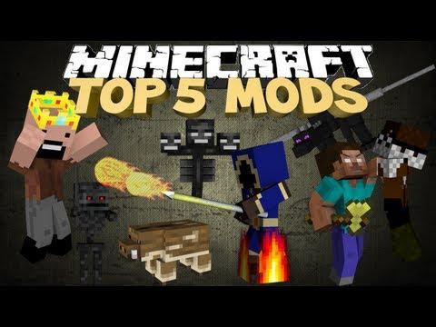 Minecraft: TOP 5 MODS FOR MINECRAFT