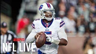 Will Tyrod Taylor be back as the Buffalo Bills QB?   NFL Live   ESPN