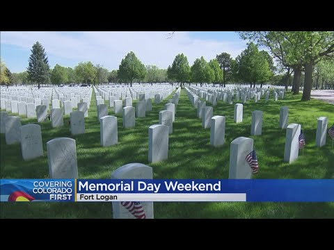 Coronavirus Changes Memorial Day Tradition At Fort Logan National Cemetery