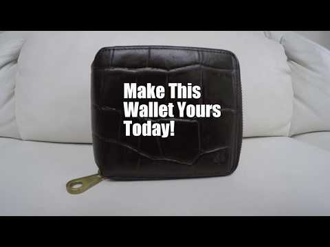 Mulberry Wallet Promotional Video