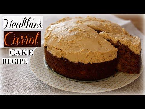 Healthier Carrot Cake Recipe (More Nutritious Too!)