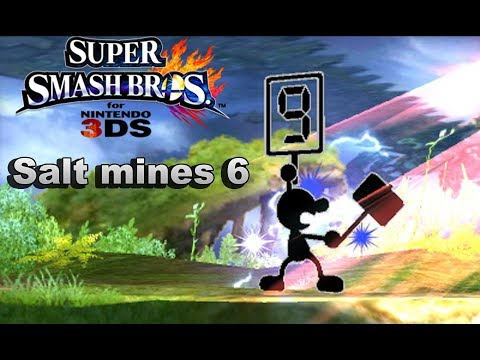 Salt Mines 6 - Super Smash Bros 3DS