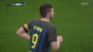 FIFA 17 Udinese-Inter Che Inter!!!!!