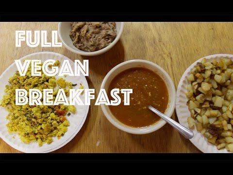 Full Vegan Breakfast