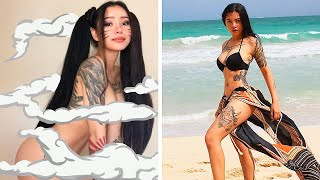 BELLA POARCH IN REAL LIFE (M to The B TikTok Girl)