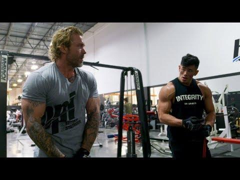 Shoulder Workout with Steven Cao - Using Resistance Bands