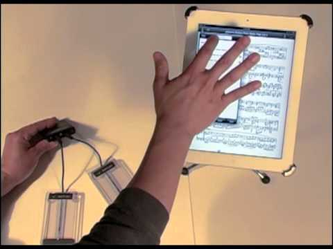 Using the iPad's Virtual Keyboard with the AirTurn BT-105 Bluetooth Page Turner