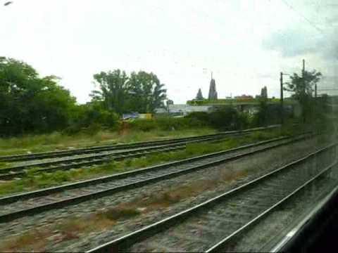 Train ride - Vienna to Prague