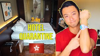 Hong Kong Quarantine: 21 days in Hotel Room - What you need to know!
