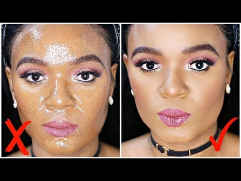 OILY SKIN? USE THIS UNDER YOUR FOUNDATION TO STOP OIL BUILDUP | OMABELLETV