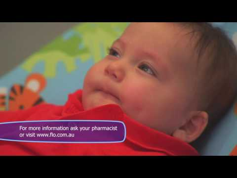 How To Clear A Baby's Congested Nose with Flo Baby Nasal Spray