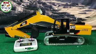 RC EXCAVATOR UNBOXING || KID TOY TV || TOY REVIEW || 1/12 REAL ENGINE SOUND UNIT
