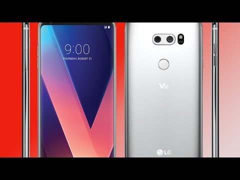 Unboxing the T-Mobile LG V30