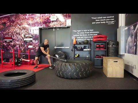 Grueling Functional Workout With Steel Mace, Battle Ropes & Explosive Movement