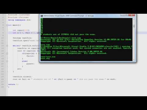 C++ Programming [10] - File Input (Reading Text Files)