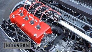 [HOONIGAN] DT 151: +500HP NA Honda Powered 9 Second Drag Car