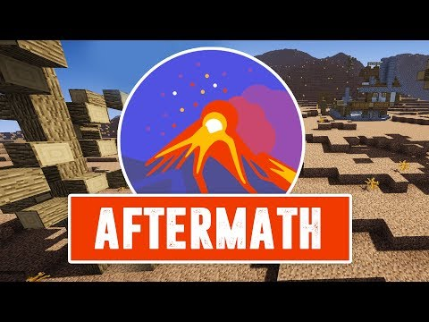 MInecraft AFTERMATH [EP1] - Magic Seeds, Spider Caves, Old Ruins (Role-Playing Survival Series)