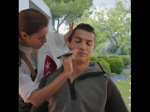 Cristiano Ronaldo Silky smooth in time for the New Year & I'm not talking about the shave
