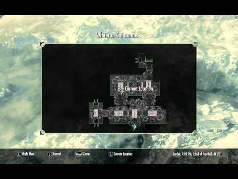 Unusual Gem 12 of 24 - Whiterun Catacombs - Stone of Barenziah - Elder Scrolls 5 Skyrim