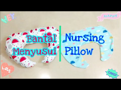 NURSING PILLOW / Cara Menjahit Bantal Menyusui