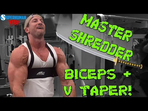 V Taper + MONSTER Biceps Workout | Get a WIDE Back + THICK Biceps