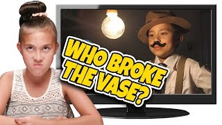 Download WHO BROKE THE VASE??? IT WASN'T ME! Kids React to The Case of the Missing Vase! Top 10 Countdown #3