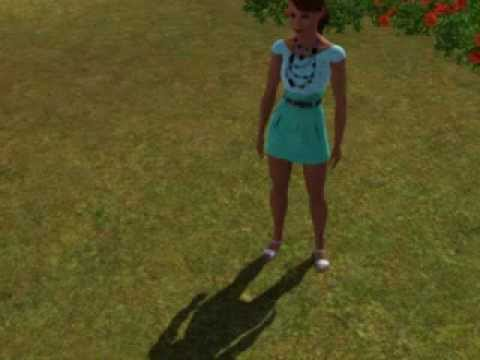 Sims 3 - Catching the Rainbow Butterfly again