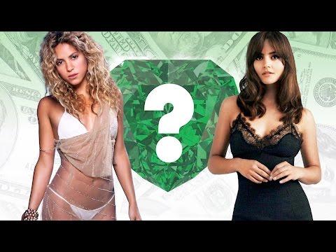 WHO'S RICHER? - Shakira or Jenna Coleman? - Net Worth Revealed!