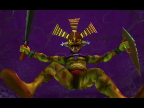 The Legend of Zelda: Majora's Mask 3D 100% Walkthrough Part 7 - Woodfall Temple (Odolwa Boss Fight)