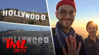 Hollyweed Sign Culprit Reveals Himself Tmz Tv