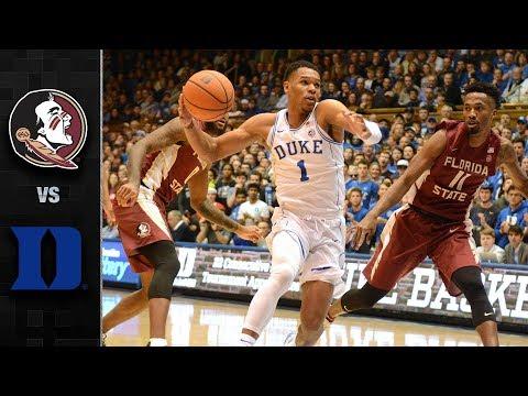 Florida State vs. Duke Basketball Highlights (2017-18)