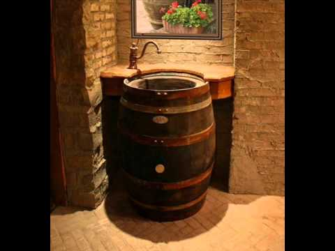 The Original Whiskey Barrel Sink