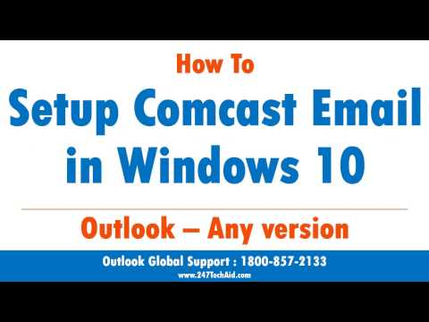 How To Setup Comcast Email in Windows 10