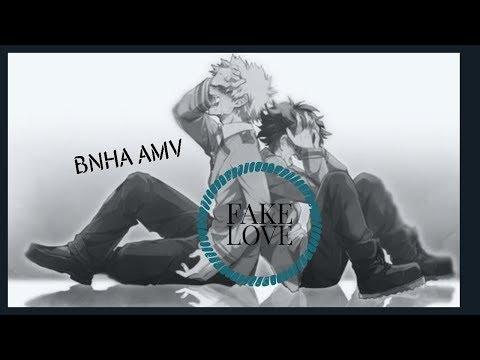 Download BNHA AMV || FAKE LOVE ||