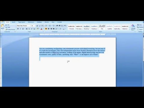 How to remove highlights from pasted text in microsoft word | remove background color from ms word