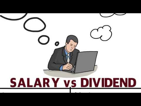 Salary vs Dividend