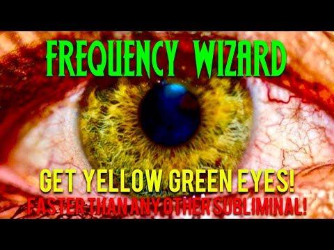 GET STUNNING YELLOW GREEN EYES FAST! CHANGE YOUR EYE COLOR! BIOKINESIS! SUBLIMINAL