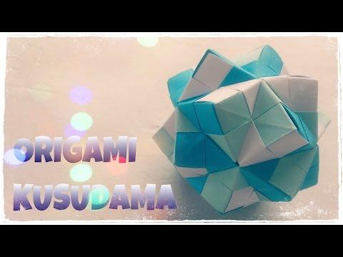Origami Ball - Kusudama Ball - Origami Easy