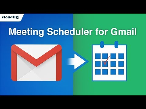 Free! Schedule a Meeting Right From Gmail