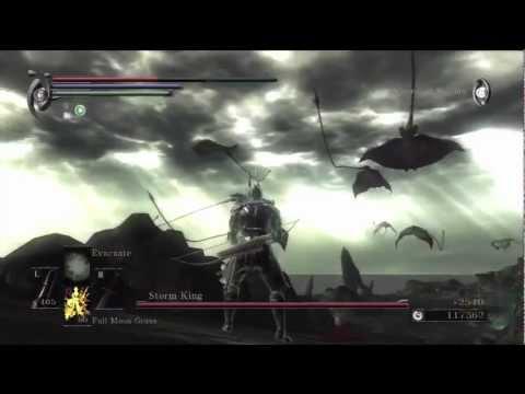 Demon's Souls: Storm King boss battle (World 4-3)