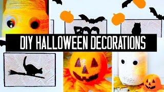 Super Easy Affordable Diy Halloween Decorations For Your Room Or Party