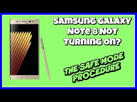 Samsung Galaxy Note 8 Not Turning On | Safe Mode | Note 8 Safe Mode
