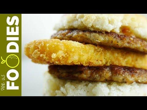 McDonald's Sausage Biscuit Hack