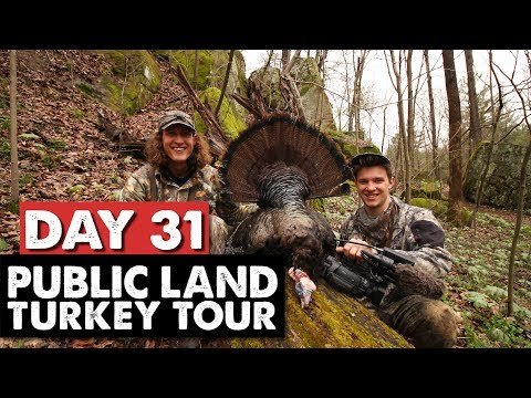 TAGGED OUT IN OHIO! - Public Land Turkey Tour Day 31