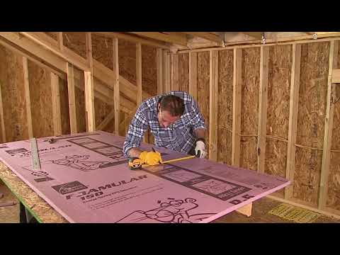 Insulation Installation Guide |  FOAMULAR® XPS Insulation for Bonus Room Floors